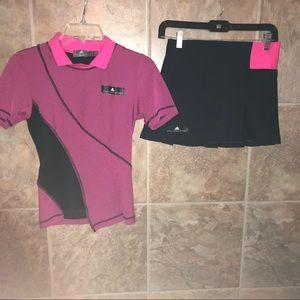 Adidas Stella McCartney 2 pc tennis outfit XS